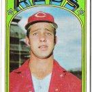 DON GULLETT 1972 Topps Baseball Card #157 Cincinnati Reds FREE SHIPPING Baseball