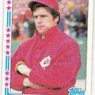 TOM SEAVER 1982 Topps All Star Baseball Card #346 Cincinnati Reds FREE SHIPPING Baseball