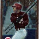 BARRY LARKIN 1996 Topps Finest Baseball Card #319 Theme F20 w/ Protective Coating Cincinnati Reds