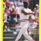 ERIC DAVIS 1987 Classic Update Yellow Green Back VARIATION Card #102 Cincinnati Reds FREE SHIPPING