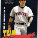 NOMAR GARCIAPARRA 2003 Donruss Champions Team Colors INSERT Card TC-28 Boston Red Sox FREE SHIPPING