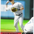 DUSTIN PEDROIA 2008 Topps Stadium Club Card #55 Boston Red Sox FREE SHIPPING Baseball 55