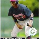 BRANDON JONES 2008 Topps Stadium Club First Day Issue ROOKIE Card #137 Atlanta Braves FREE SHIPPING