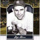 YOGI BERRA 2008 Upper Deck Yankee Stadium Legacy Collection INSERT Card #1865 New York Yankees