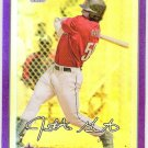 JON GASTON 2010 Bowman CHROME Prospects PURPLE REFRACTOR ROOKIE Card #BCP8 #d 613/999 Houston Astros