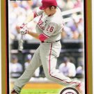 CHASE UTLEY 2010 Bowman GOLD Parallel Card #90 Philadelphia Phillies FREE SHIPPING Baseball 90