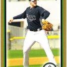 WADE DAVIS 2010 Bowman GOLD ROOKIE Card #203 Tampa Bay Rays FREE SHIPPING Baseball RC
