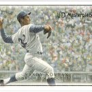 SANDY KOUFAX 2007 Upper Deck Masterpieces Card #26 Brooklyn Los Angeles Dodgers FREE SHIPPING