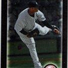 CC SABATHIA 2010 Bowman CHROME Card #158 New York Yankees FREE SHIPPING Baseball 158
