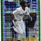 ADEINIS HECHAVARRIA 2010 Bowman Chrome Green REFRACTOR Xfractor ROOKIE Card #BCP198 Toronto Blue Jay