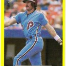MIKE SCHMIDT 1987 Classic Yellow Update Green Back SP Card #200 Philadelphia Phillies FREE SHIPPING