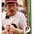 MIKE SCHMIDT 1989 Upper Deck Card #406 Philadelphia Phillies FREE SHIPPING Baseball 406