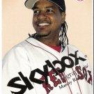MANNY RAMIREZ 2004 Skybox Autographics Card #64 Boston Red Sox FREE SHIPPING Baseball 64