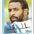WILLIE WILSON 1982 Topps Card #230 Kansas City Royals FREE SHIPPING Baseball 230
