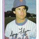 DOUG FLYNN 1982 Topps Card #302 New York Mets FREE SHIPPING Baseball 302