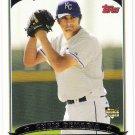 CHRIS DEMARIA 2006 Topps ROOKIE Card 317 Milwaukee Brewers Kansas City Royals FREE SHIPPING Baseball