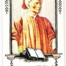 DANTE ALIGHIERI 2010 Topps Allen & Ginter World's Wordsmiths INSERT Card #WGWS9 FREE SHIPPING
