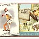 DAN HAREN 2010 Topps Allen & Ginter This Day In History INSERT Card #TDh23 Arizona Diamondbacks