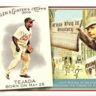 MIGUEL TEJADA 2010 Topps Allen & Ginter This Day In History INSERT Card #TDH57 Baltimore Orioles