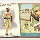 ADAM JONES 2010 Topps Allen & Ginter This Day In History INSERT Card #TDH29 Baltimore Orioles