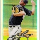 TYLER THORNBURG 2010 Bowman Draft Picks & Prospects REFRACTOR Chrome ROOKIE Card BDPP10 Brewers