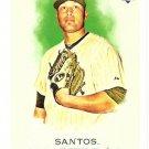 SERGIO SANTOS 2010 Topps Allen & Ginter ROOKIE Card #195 Chicago White Sox FREE SHIPPING 195