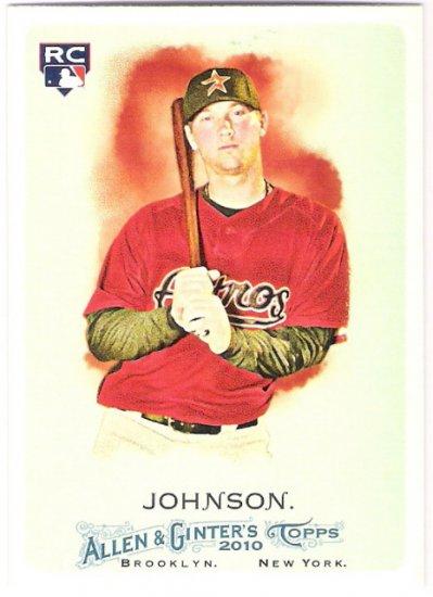 CHRIS JOHNSON 2010 Topps Allen & Ginter ROOKIE Card #210 Houston Astros FREE SHIPPING 210