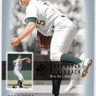 BARRY ZITO 2003 SP Authentic Superstar Flashback INSERT Card #SF44 #d Oakland A's FREE SHIPPING