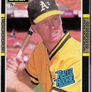 MARK MCGWIRE 1987 Leaf Rated ROOKIE Card #46 Oakland A's FREE SHIPPING Baseball RC 46