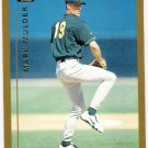 MARK MULDER 1999 Topps Traded ROOKIE Card #T8 Oakland A's FREE SHIPPING Baseball RC T8