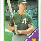 MARK MCGWIRE 1988 Topps Card #580 Oakland A's FREE SHIPPING Baseball 580