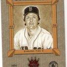 CARLTON FISK 2002 Donruss Diamond Kings Heritage Collection INSERT Card #HC-10 Boston Red Sox