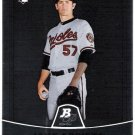 JAKE ARRIETA 2010 Bowman Platinum ROOKIE Card #11 BALTIMORE ORIOLES Baseball FREE SHIPPING