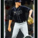 WADE DAVIS 2010 Bowman Draft Picks & Prospects CHROME ROOKIE Card #BDP13 Tampa Bay Rays
