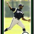 LORENZO CAIN 2010 Bowman Draft Picks & Prospects ROOKIE Card #BDP56 Milwaukee Brewers FREE SHIPPING