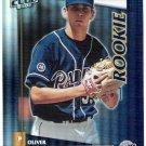 OLIVER PEREZ 2002 Donruss Best Of Fan Club SP ROOKIE Card #202 San Diego Padres #'d 137/1350