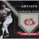 PEDRO MARTINEZ 2002 Donruss Best Of Fan Club Artists INSERT Card #A-1 Boston Red Sox #d 133/300