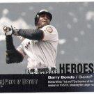 BARRY BONDS 2002 Upper Deck Piece Of History Tape Measure INSERT Card #TM25 San Francisco Giants