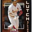 ALBERT PUJOLS 2003 Upper Deck Victory Clutch Players Card #129 St Louis Cardinals FREE SHIPPING