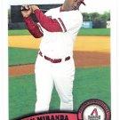 JUAN MIRANDA 2011 Topps Card #606  Arizona Diamondbacks FREE SHIPPING Baseball 606
