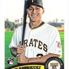 JOSH RODRIGUEZ 2011 Topps ROOKIE Card #563 Pittsburgh Pirates FREE SHIPPING Baseball RC 563