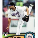 PEDRO BEATO 2011 Topps ROOKIE Card #639 New York Mets FREE SHIPPING Baseball RC 639