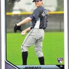 JEREMY HELLICKSON 2011 Topps Lineage ROOKIE Card #31 Tampa Bay Rays FREE SHIPPING 31 Baseball RC