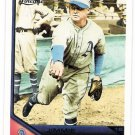JIMMIE FOXX 2011 Topps Lineage Card #3 Philadelphia A's FREE SHIPPING 106 Baseball Retired HOF