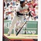 ADAM JONES 2011 Topps Lineage Card #174 Baltimore Orioles FREE SHIPPING 174 Baseball