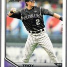 TROY TULOWITZKI 2011 Topps Lineage Card #80 Colorado Rockies FREE SHIPPING 80 Baseball