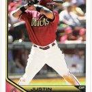 JUSTIN UPTON 2011 Topps Lineage Card #37 Arizona Diamondbacks FREE SHIPPING 37 Baseball