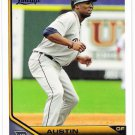 AUSTIN JACKSON 2011 Topps Lineage Card #156 Detroit Tigers FREE SHIPPING Baseball 156