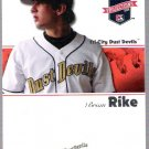 BRIAN RIKE 2008 Tristar Projections ROOKIE Card #318 Colorado Rockies FREE SHIPPING Dust Devils