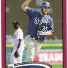 ERIC HOSMER 2012 Topps RED Border PARALLEL Card #35 Kansas City Royals FREE SHIPPING Target Insert